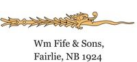 Logo William Fife & Son