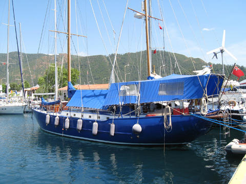 ALAN PAPE 60 Steel Ketch
