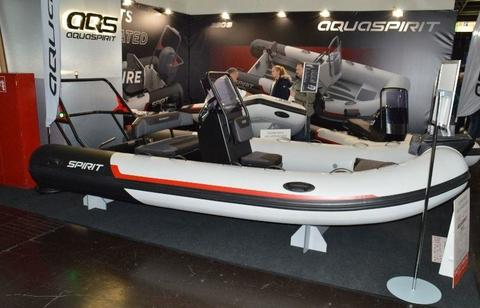 Aquaspirit AQS 450C Highline mit Suzuki DF40ATL
