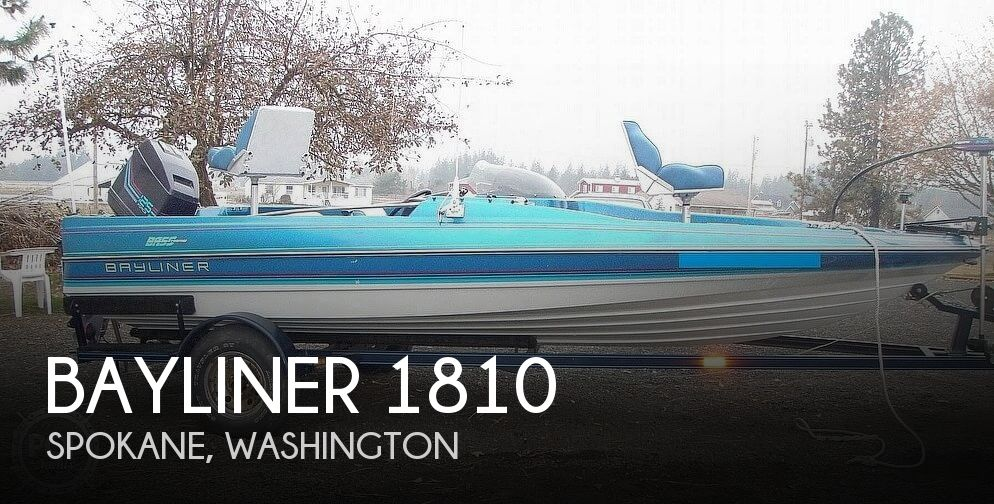 Bayliner Bass Trophy 1810 Fish & Ski