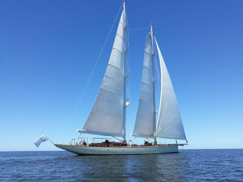 Custom built Schooner