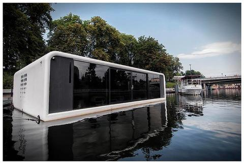 Floodule FLOO3 Basic Version Houseboat