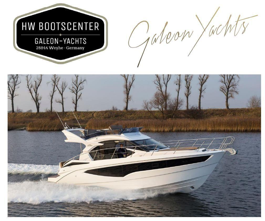 Galeon 360 Fly mit Seitentür / with side door