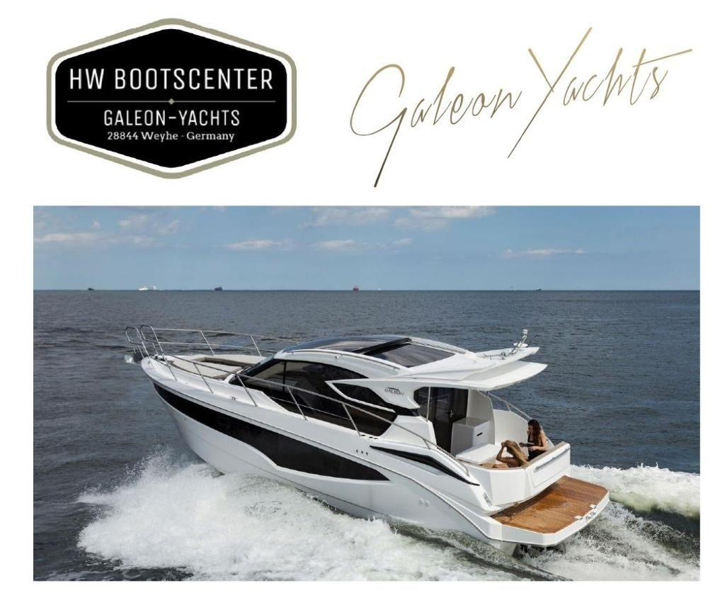 Galeon 370 HTC mit Seitentür / with side door