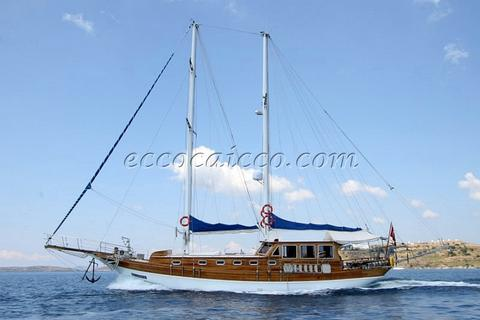 sailboat Caicco ATL 366