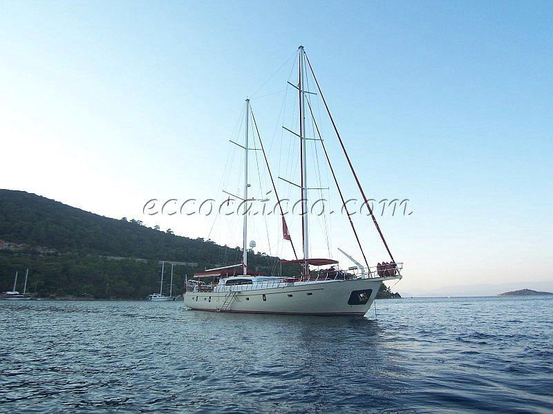 Gulet Caicco ECO 396 Steel Hull