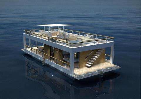 Houseboat The Yacht House 70