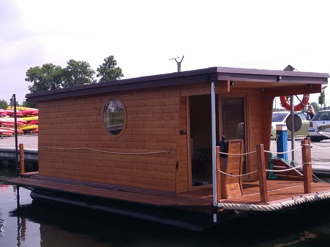 Houseboat ZOE 800 Plus Boat