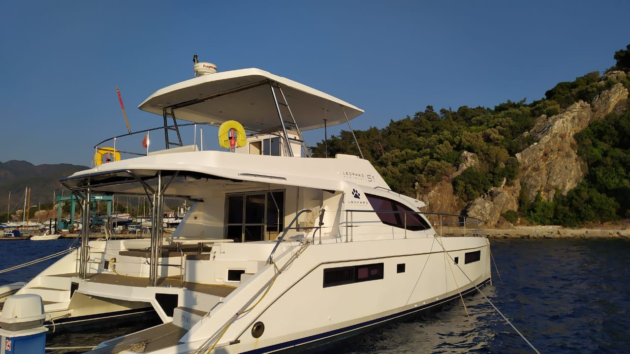 Leopard 51 PC Power Catamaran