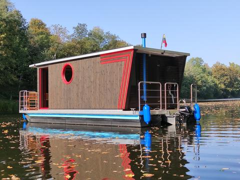 Nordic Houseboat Eco Wood 18m2