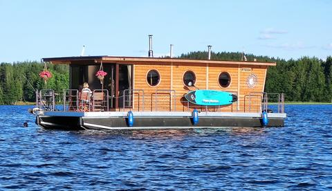 Nordic Houseboat Eco Wood 36m2
