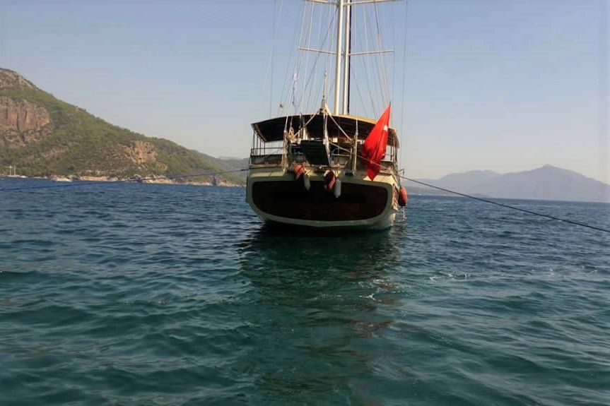 one off 34,00 m 8 cabins gulet sailboat for sale