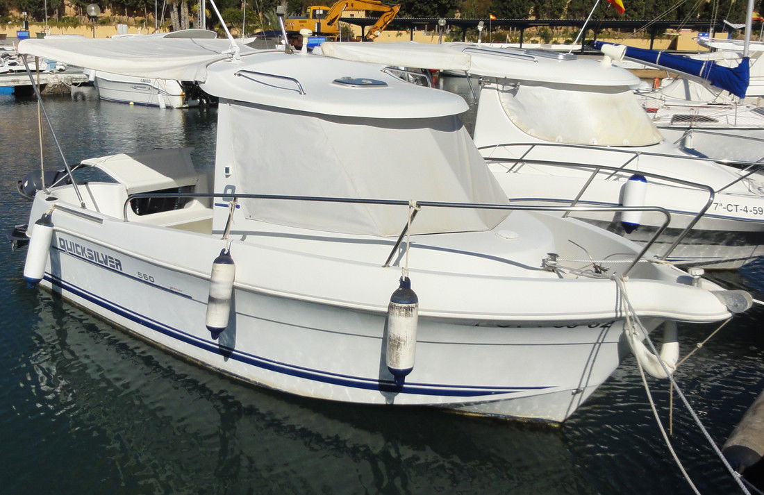 Quicksilver 560 Pilothouse 2