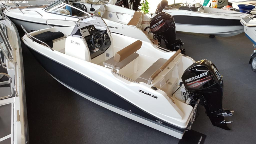Quicksilver Activ 505 Open (LAGERBOOT)