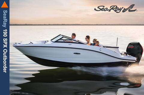Sea Ray 190 SPOE Outboard