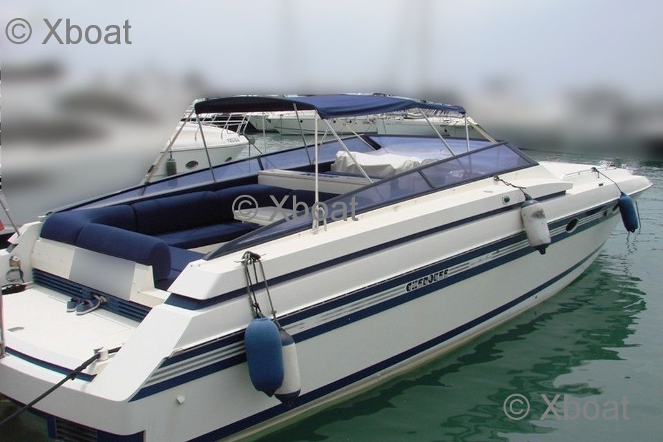 Sunseeker Cherokee 45 Fast boat from the very well