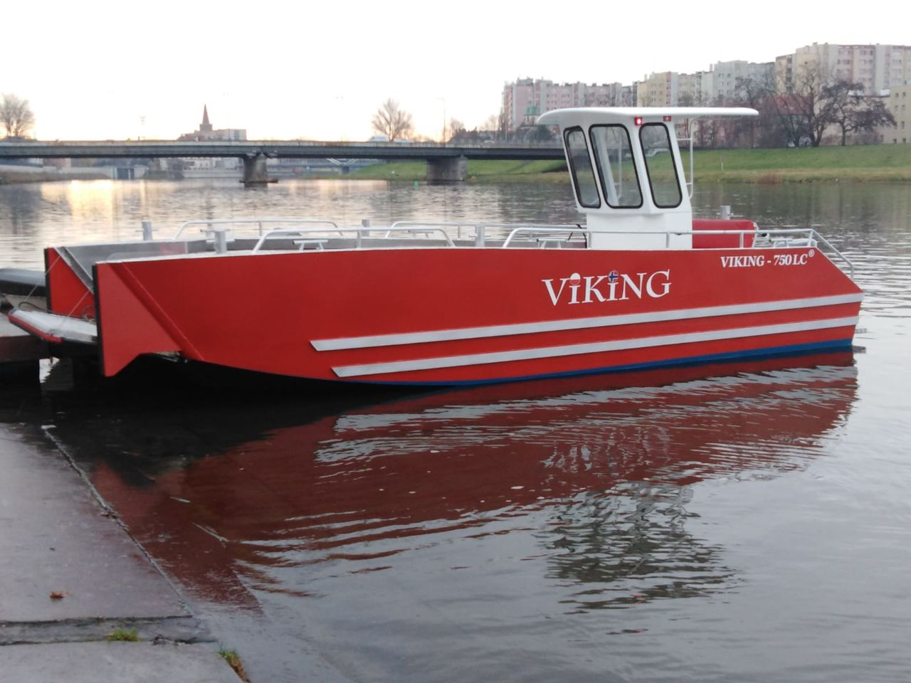 Viking 750 LC Aluboot